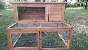 *** 2 STORY HUTCH / RUN 1240 L X 880 d X 900 h rabbit guinea pigs Londonderry Penrith Area Preview