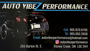 AUTO VIBEZ PERFORMANCE -- WINDOW TINTING/VINYL WRAPPING