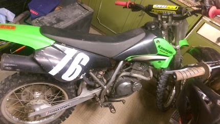Klx 125 dirt bike