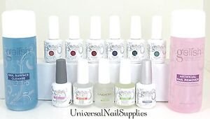 Harmony Gelish Sock-Off Gel Nail Polish Starter Kit Love In Bloom Set + More