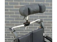 Wheelchair headrest
