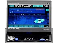 ALPINE POP OUT SCREEN DVD PLAYER....MODEL NO IVA D310RB