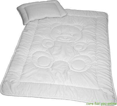 2-tlg. Baby Bettenset Kissen 40x60 cm und Decke 100x135 cm Microfaser Teddy*NEU*