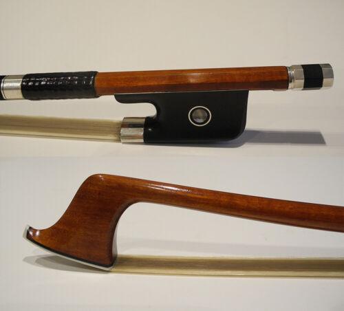 Master Pernambuco Cello bow ebony frog silver parts  4/4
