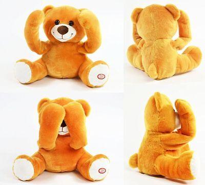 Guck Guck Bär Spricht und bewegt sich Bear Plüschbär Kinder Spielen Neu OVP