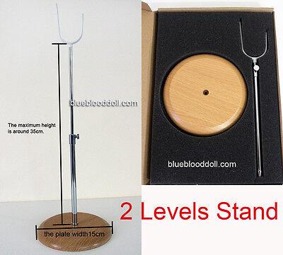 1/3 SD 1/4 MSD 43-70cm bjd heavy weight doll support stand dollfie iplehouse tan