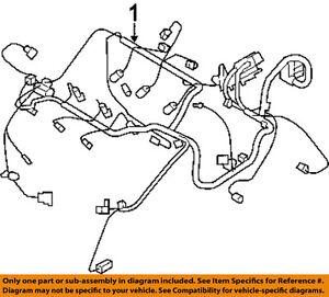 chrysler oem engine control module wiring harness 4795736ae. Black Bedroom Furniture Sets. Home Design Ideas