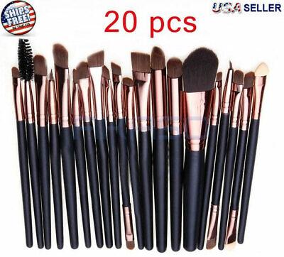 20pcs Makeup BRUSHES Kit Set Powder Foundation Eyeshadow Eye