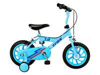 "Trax 12"" Kids Bicycle Blue"