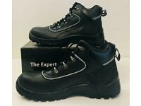 New Redwing 3236 Safety Shoes Brown Metal Free Oil//Slip Resistant S3 UK13