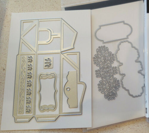 Stampin Up - Perfect Parcel Dies -  New - make a fun box