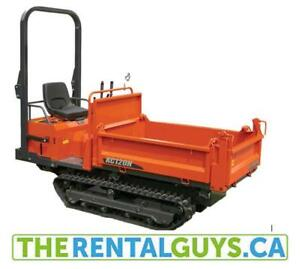 Power Wheelbarrow For Rent - Free Delivery & Pick Up !!!