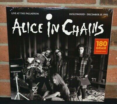 ALICE IN CHAINS - Live At The Palladium 1992, Ltd Import 180G COLOR VINYL LP New