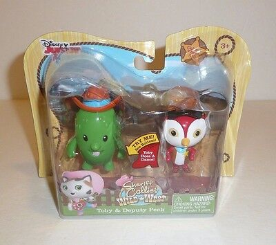 Sheriff Callie Cactus (Sheriff Callie's Wild West Toby and Deputy Peck Disney Junior Toy Figures)