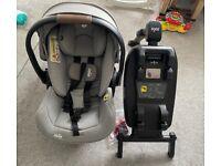 JOIE I-Level Child's Children's Car Seat. Isofix base.