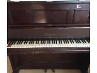 Harcourt & Co London sturdy upright piano
