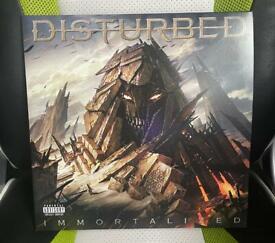 Disturbed Immortalised Vinyl Album
