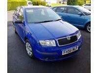 2006 Blue Skoda Fabia for Sale