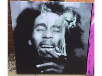 **Canvas Prints - Bob Marley, Blonde & Paul Weller - RRP £120**