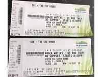 Roger waters tickets Us and them tour