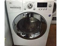 LG F1443KDS 11kg 1400 Spin White LCD Silent Washing Machine 1 YEAR GUARANTEE FREE FITTING