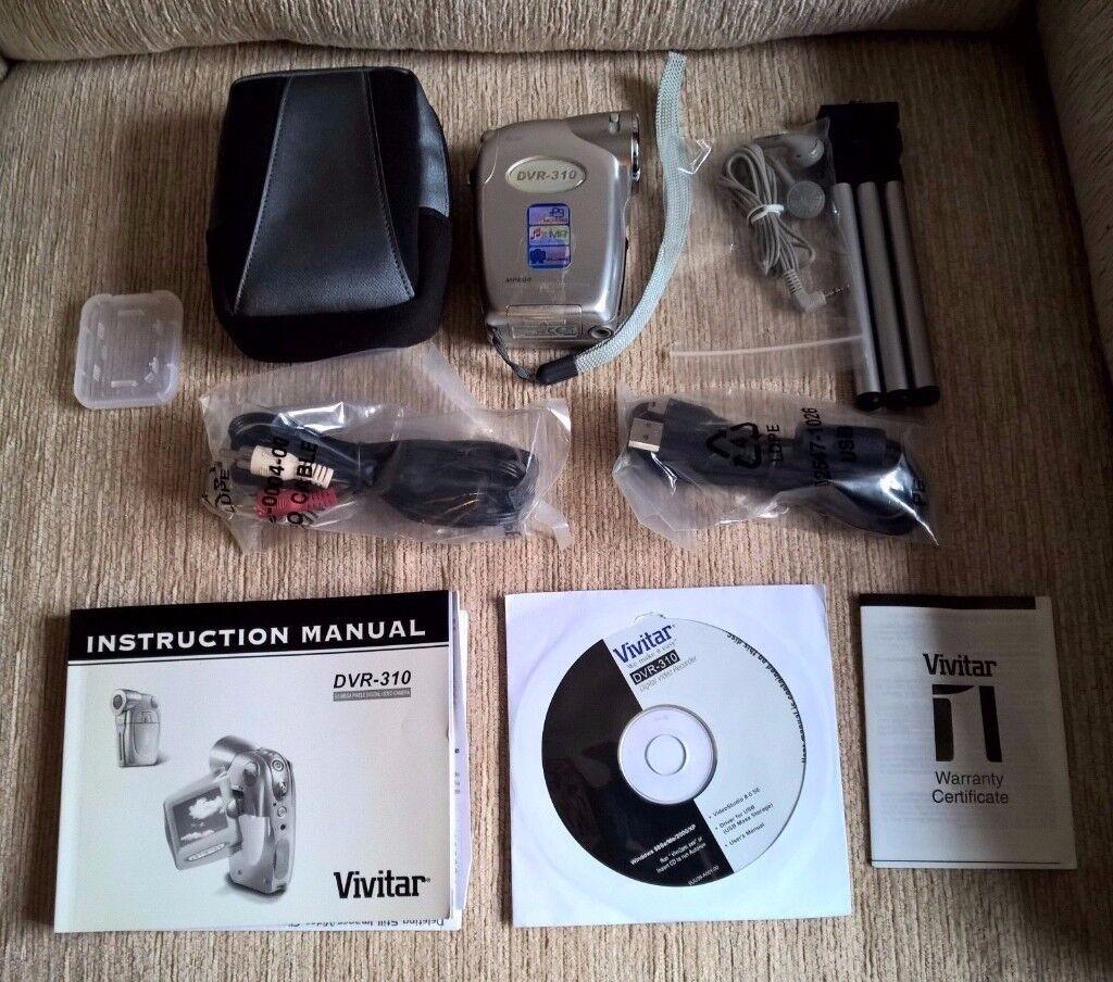 Vivitar DVR-310 3MP MPEG4 Camcorder Camera