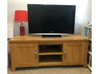 tv unit oak land furniture