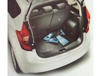 Genuine Nissan Note rubber boot / trunk liner
