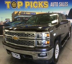 2014 Chevrolet Silverado 1500 LT CREW CAB, 4X4, BACK UP CAMERA,