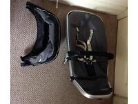 Quinny toddler seat with visor