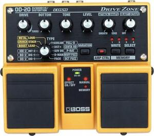 Boss OD-20 Overdrive dual pedal - as new not used $120 firm