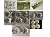 NEW Portmeirion Botanic Garden SET Plates, Mugs, Bowls, Spoons, Cake cutter