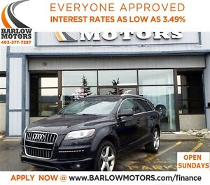 2012 Audi Q7 3.0 *EVERYONE APPROVED* APPLY NOW DRIVE NOW