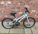 Girls pale blue TRAX TR 20inch bicycle