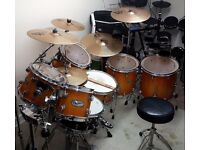 7 PIECE MAPEX PRO M DRUM KIT