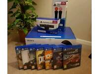 *NEAR-NEW* PlayStation VR System with Camera V2, Two Move Controllers & 7 Games