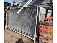 ☃️New Round Top Heras * Temporary Security Fencing Sets * X 35