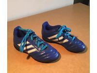 Boys Adidas Astro turf trainers size 11.5