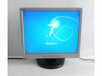 17 Inch Monitor - NEC (LCD1712) + VGA & Power Lead (Gaming PC, Graphics Card, Desktop PC, LCD, TFT)
