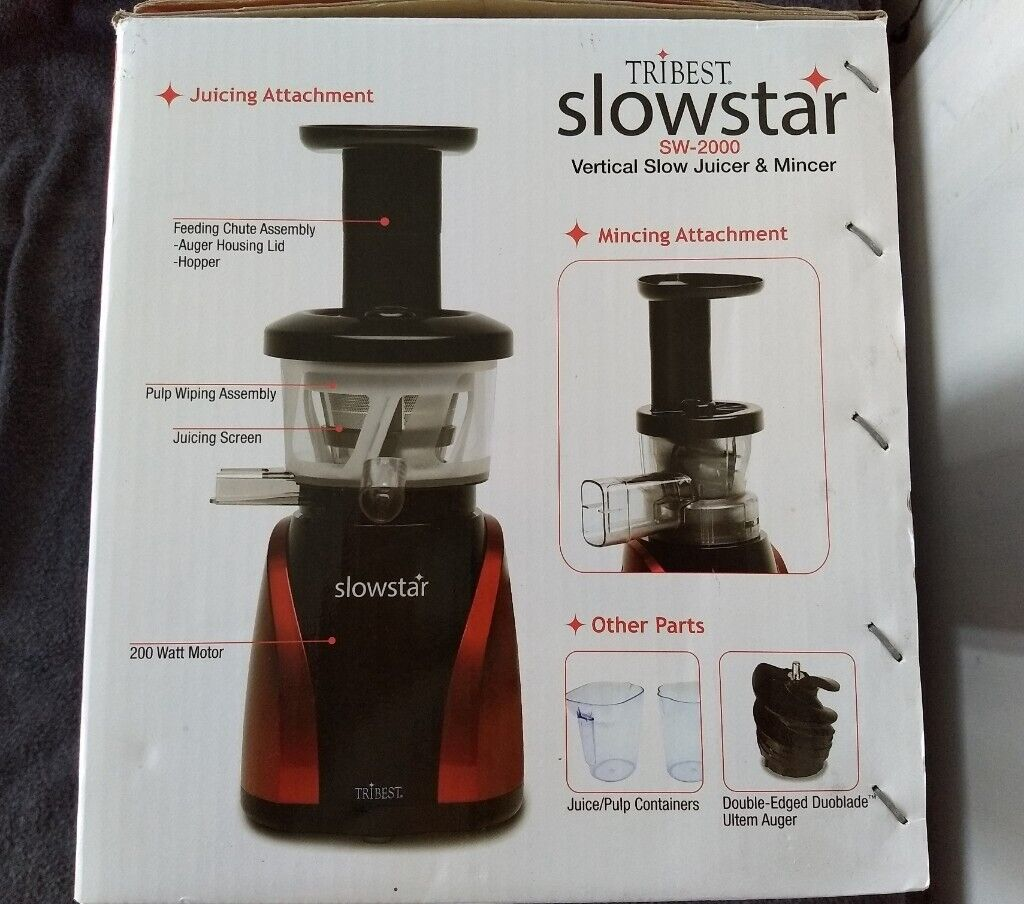 NEW Slowstar SW 2000 Vertical slow Juicer and Mincer | in Northolt, London | Gumtree