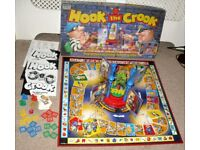 Vintage 1994 Hook The Crook Board Game by Parker Brothers 14222