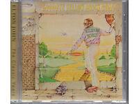 Elton John Goodbye Yellow Brick road CD.