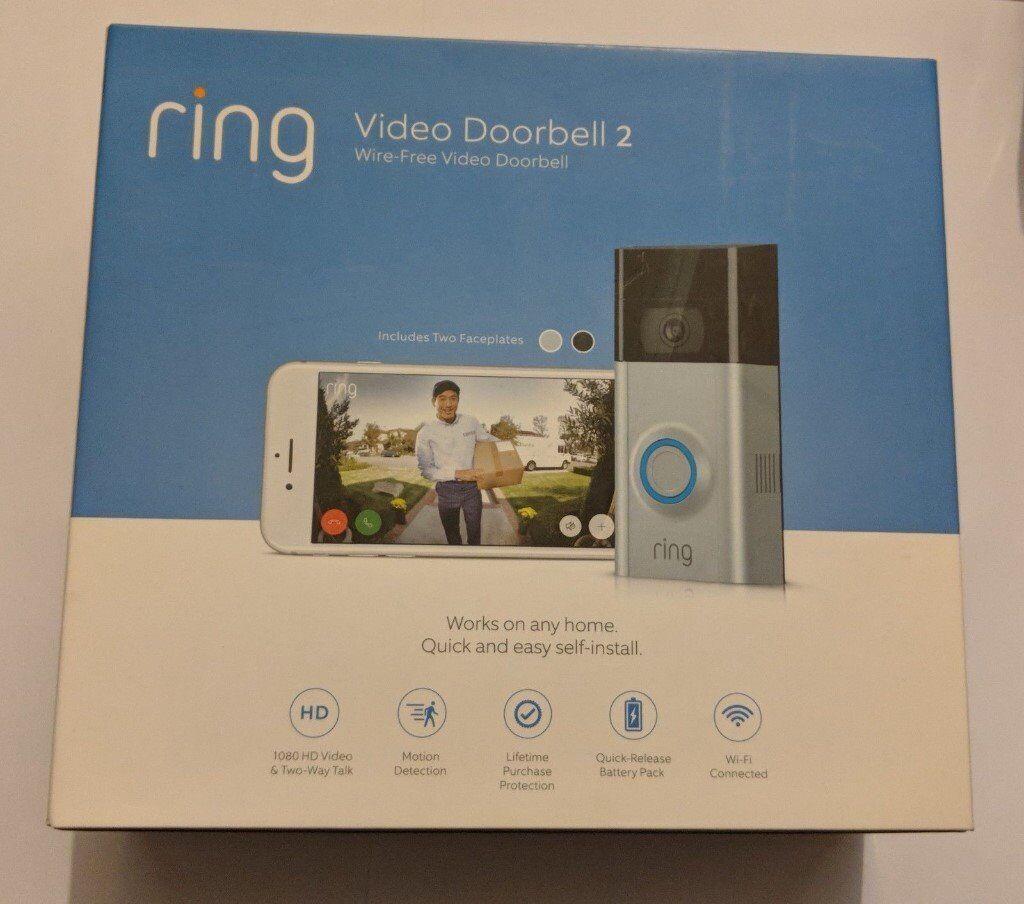 RING : Video Door Bell 2 / BRAND NEW   in Greenford, London   Gumtree