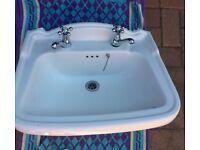 """""""Victorian style"""" handbasin"""