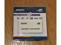 UNIVERSAL CARD READER (JESSOPS) ~ BRAND NEW, STILL IN PACKAGING