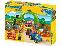 PLAYMOBIL: Zoo set 123. 6754 preschool