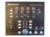 Presonus Monitor Station V2 Desktop Studio Monitor Speaker Controller / Switcher