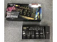 Korg ax3000g multi fx guitar