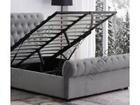 🟦✔️Astral Sleigh Ottoman storage bed in double/king size!!!!