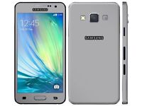 New Samsung galaxy A3 boxed replacement phone but not needed O2